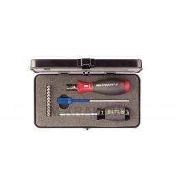 34614 - Zestaw TorqueVario®-S, 13-cz. z bitami TORX®, TORX PLUS®