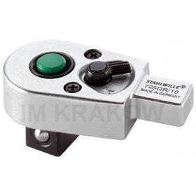 "725/20QR - Grzechotka wtykowa QuickRelease 1/2"" 14x18mm"