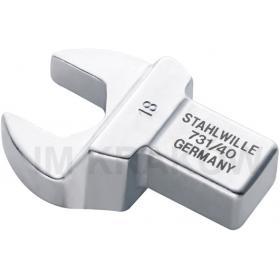 731/40 15 - Końcówka płaska wtykowa 14x18mm, 15mm